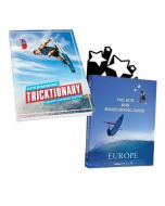 Kiteboarding Travel book combo